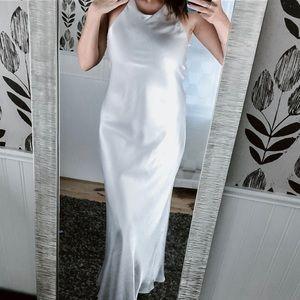 VINTAGE 90s Hampton Nites Shimmery Slip Dress